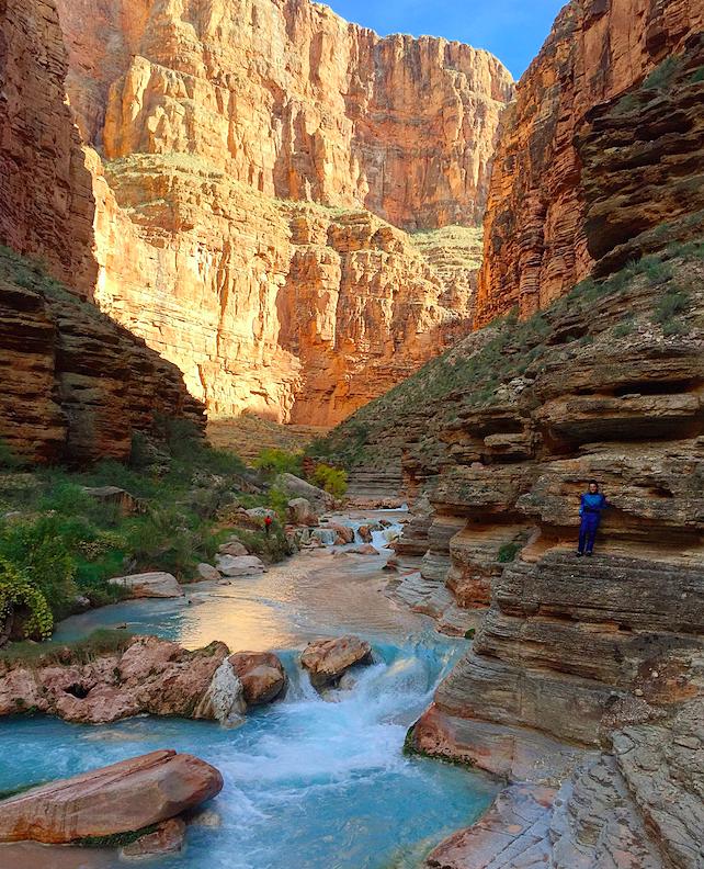 Darius Nabors in the Grand Canyon. Photo courtesy of Darius Nabors