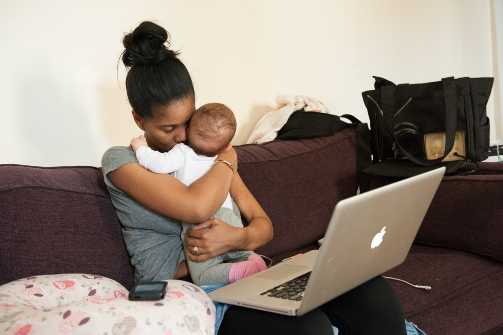 These photos show an honest portrait of working moms in America