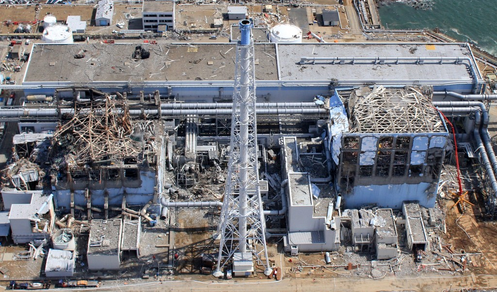 An aerial view of the Fukushima Daiichi Nuclear Power Station, taken on March 24, 2011. Mandatory Credit Photo by Air Photo Service