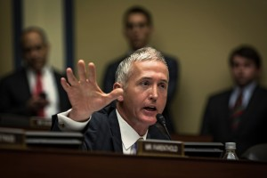 Photo of House Benghazi Committee's Republican chairman, Rep. Trey Gowdy of South Carolina. Photo by James Lawler Duggan/Reuters