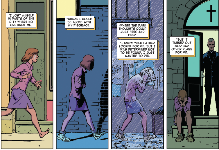 Daredevil Comic Takes On A Demon Of A Different Sort Postpartum Depression Pbs Newshour