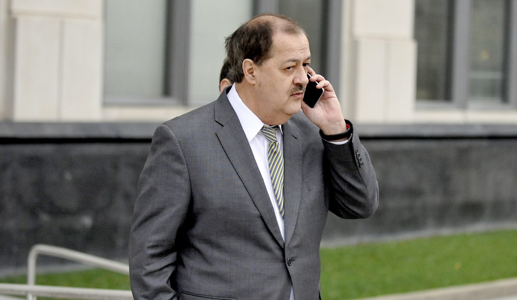 File photo of former Massey Energy CEO Don Blankenship by Chris Tilley/Reuters