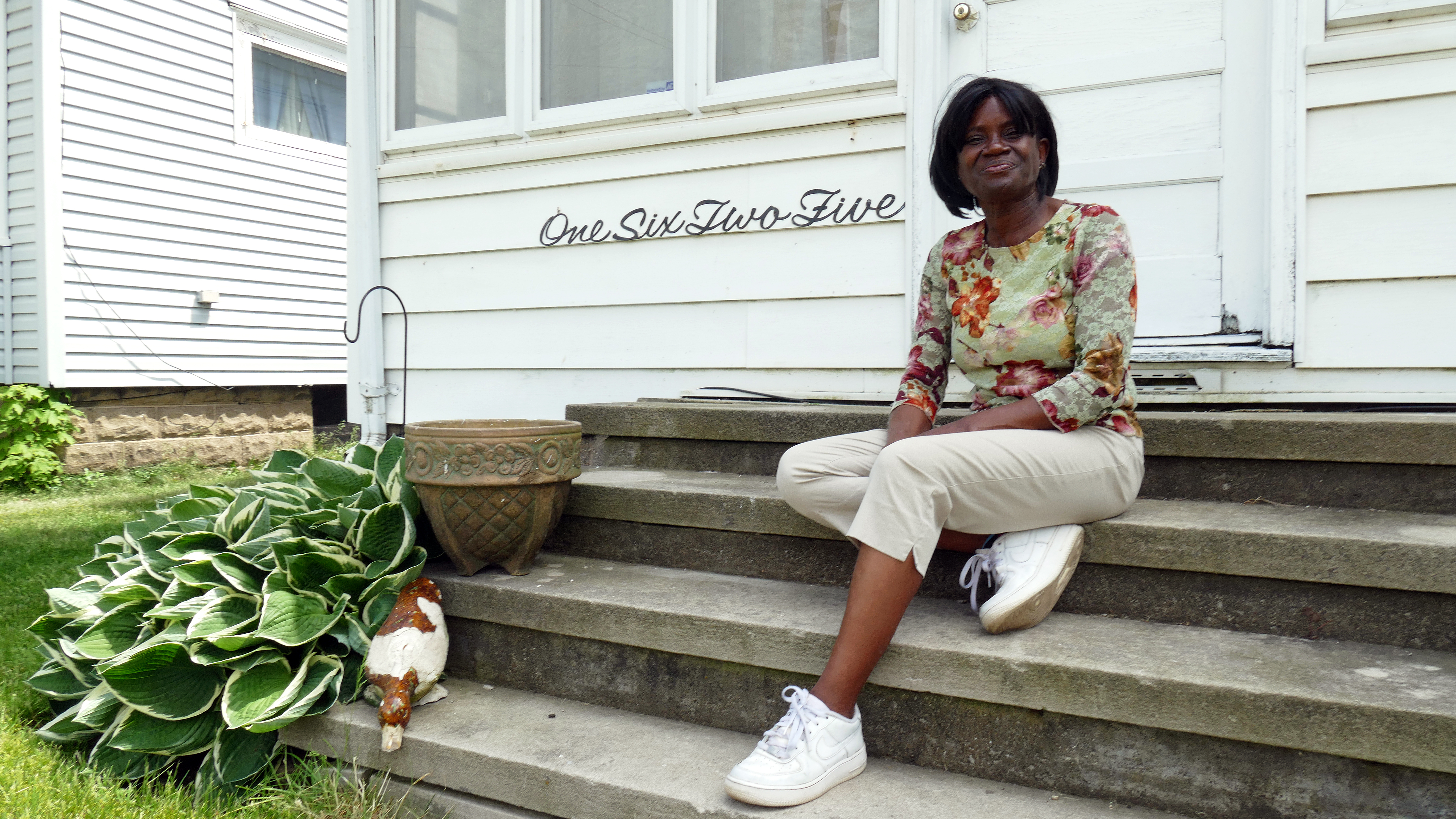 Victoria Bowen, 54, works for a mobile home manufacturer in Elkhart.
