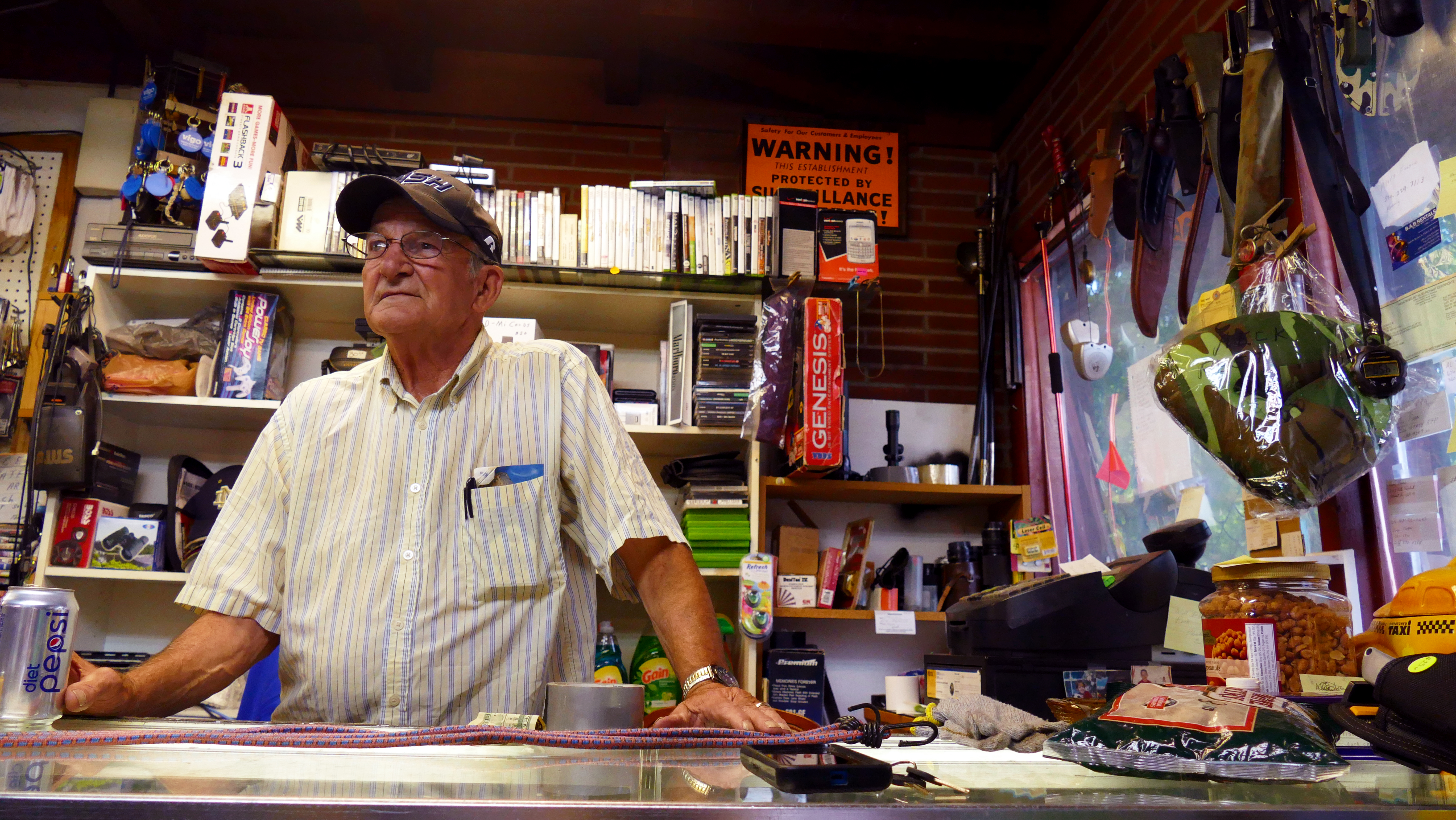 Donald Fisher, 77, opened his electronics repair shop in Elkhart in the late 1990s. He said the region is still struggling, despite the drop in unemployment.