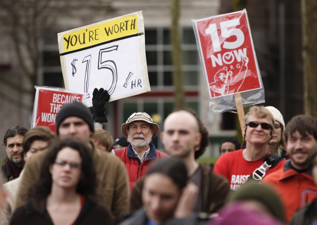 SEATTLE -- The U.S. Supreme Court will not hear a challenge to Seattle's $15-an-hour minimum wage from franchise owners wh...