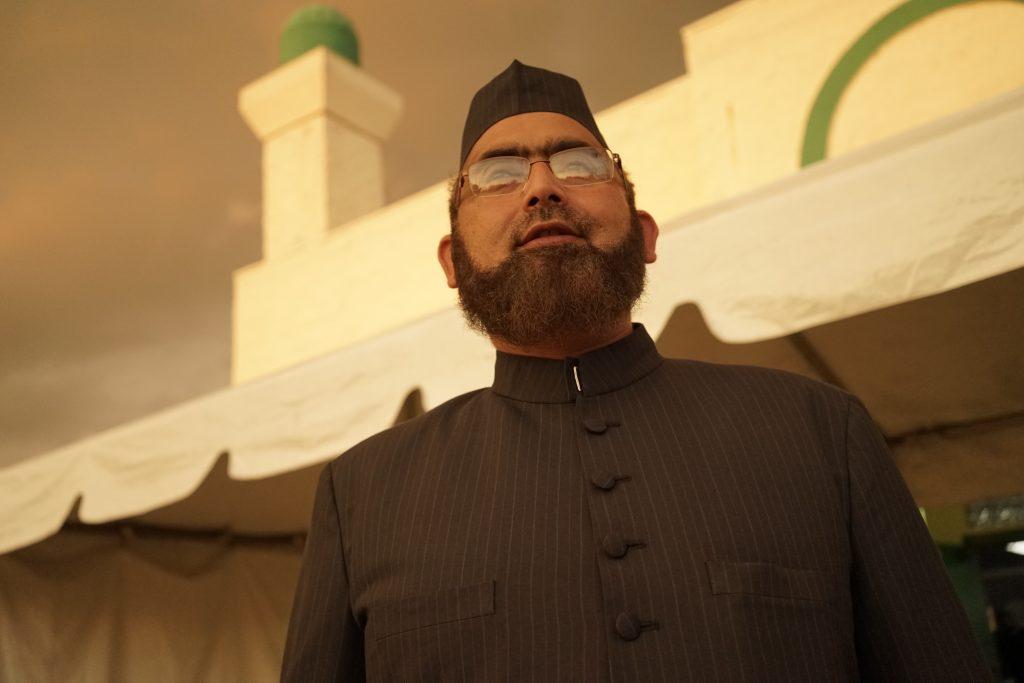 Imam Tariq Rasheed of the Islamic Center of Orlando. Photo by William Brangham