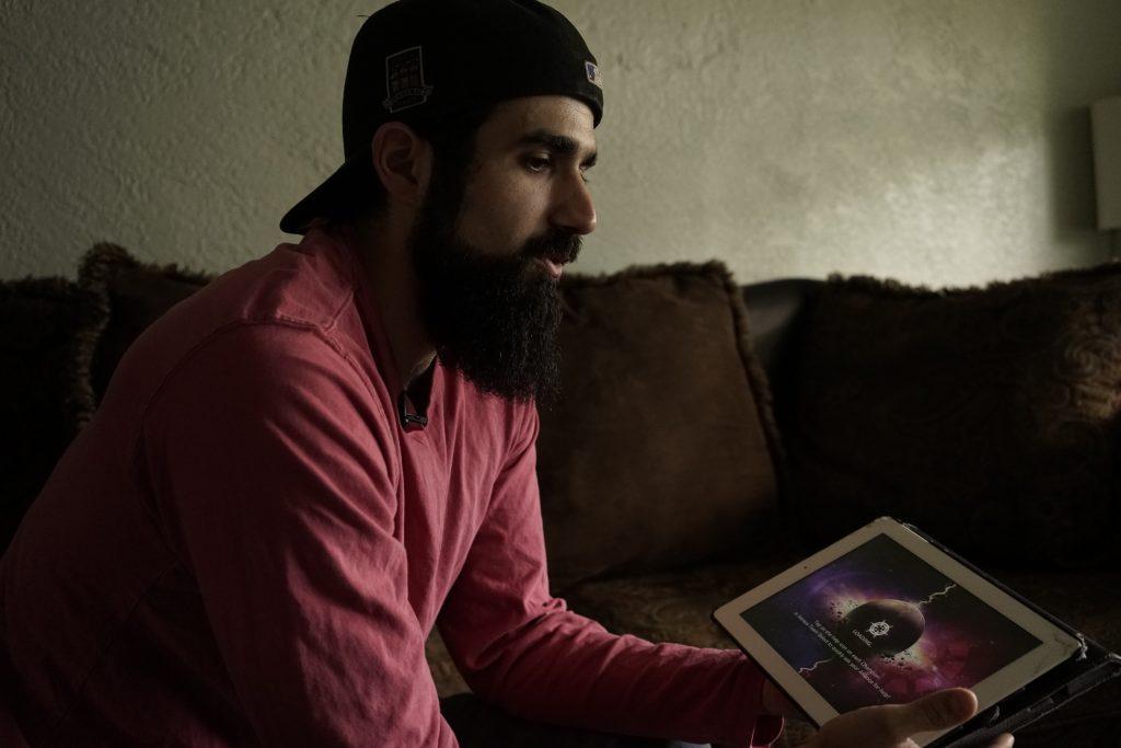 Joshua Weil, Outreach for the Islamic Center of Orlando. Photo by William Brangham