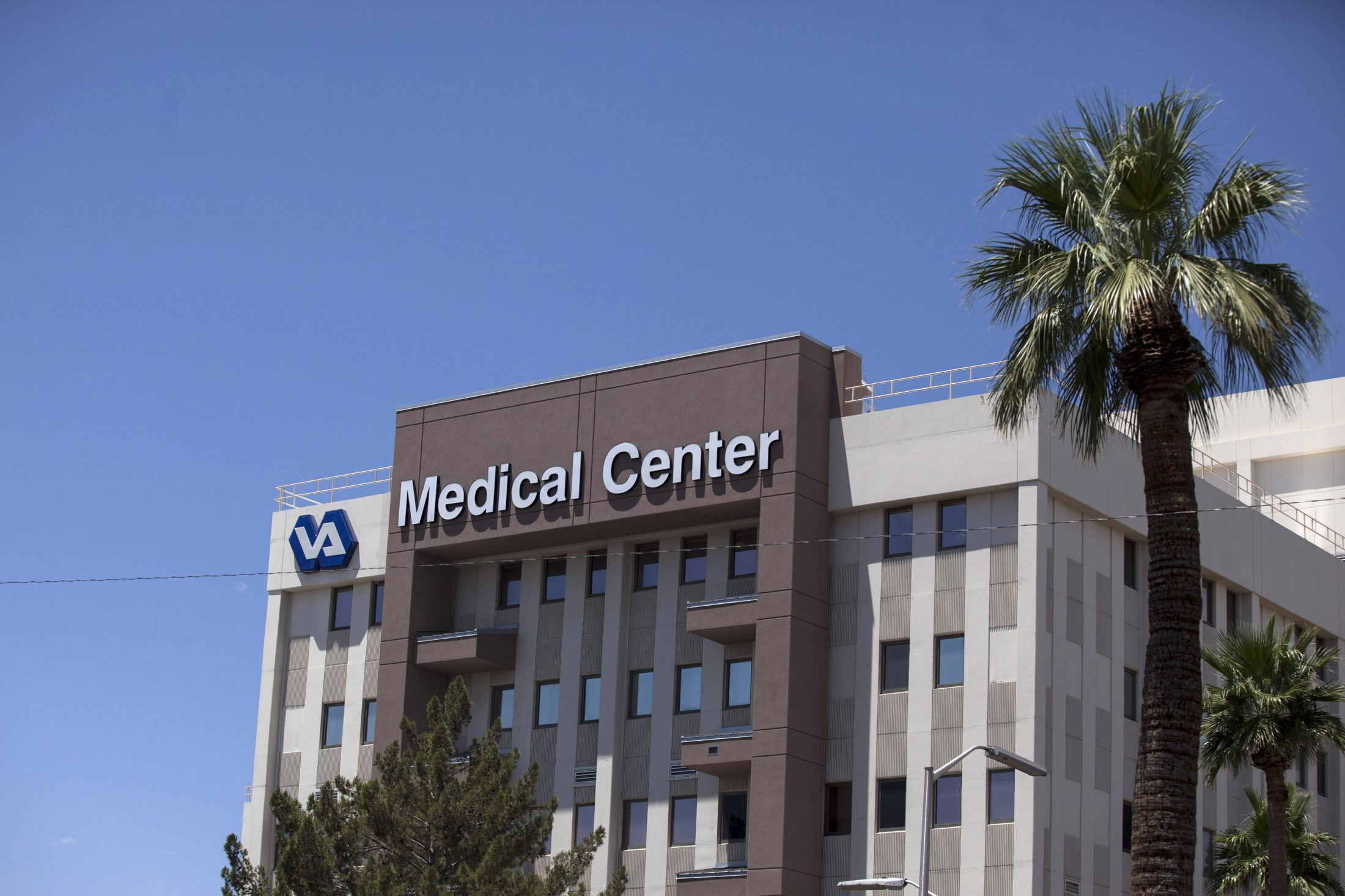 The Carl T. Hayden VA Medical Center is pictured in Phoenix, Arizona. Photo by Samantha Sais/Reuters