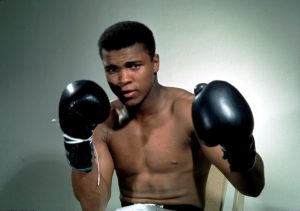 Muhammad Ali in an undated photo by Action Images/Sporting Pictures via Reuters