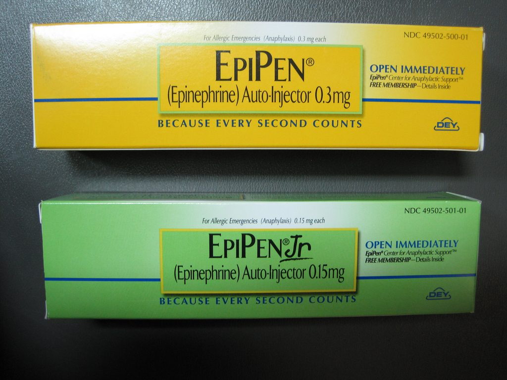 fda approves first generic rival to epipen pbs newshour