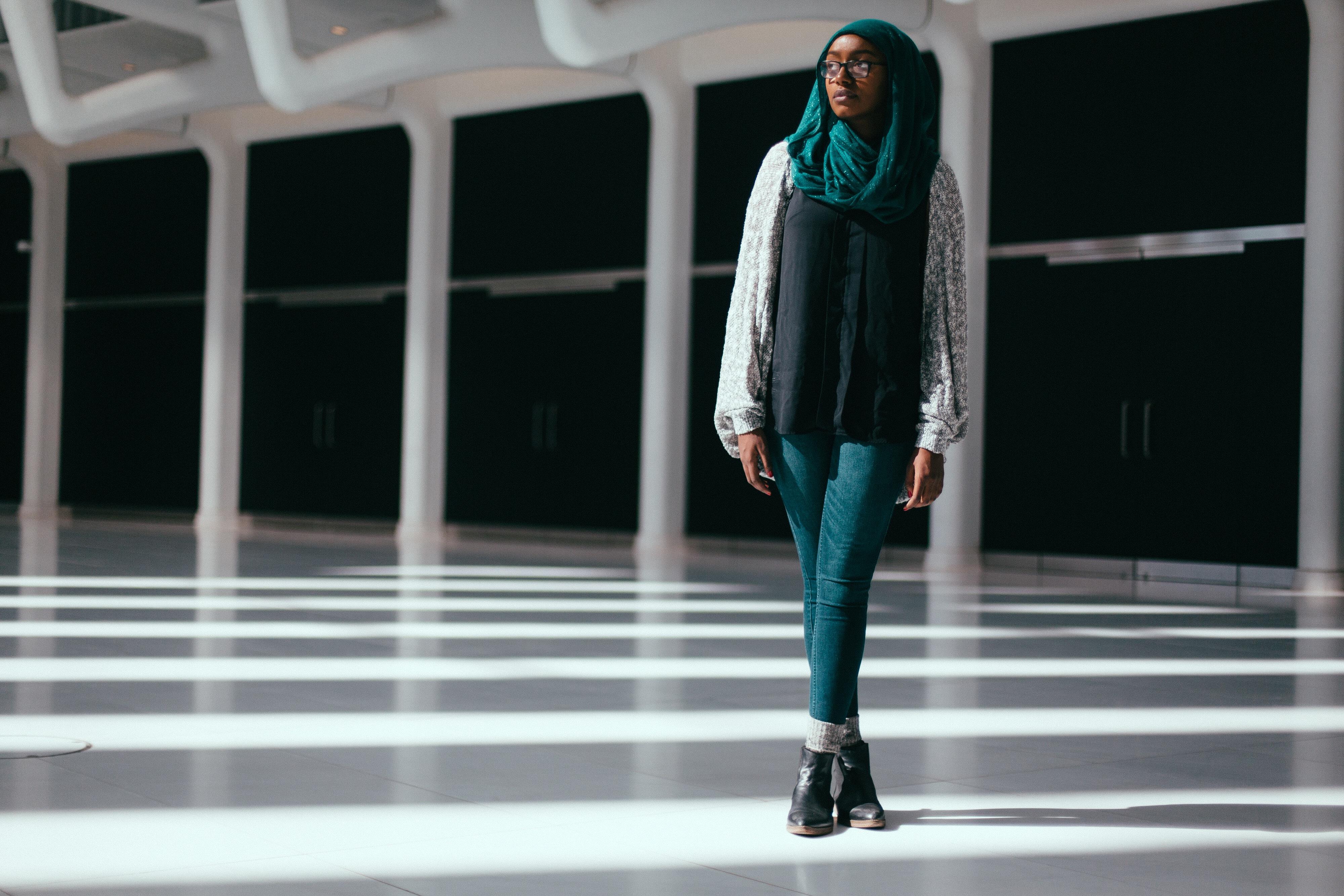NYU Sophomore Bayan Abubakr...Photo by Emilio Madrid-Kuser