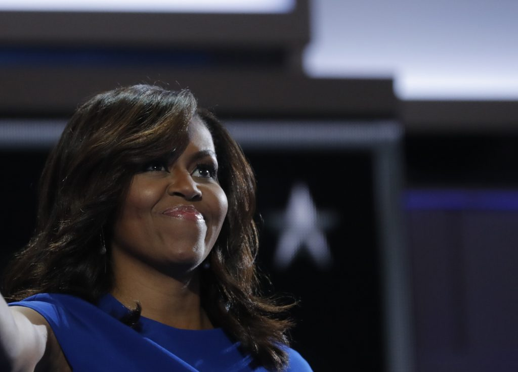 Michelle Obama's legacy spans from healthy food to girls' empowerment