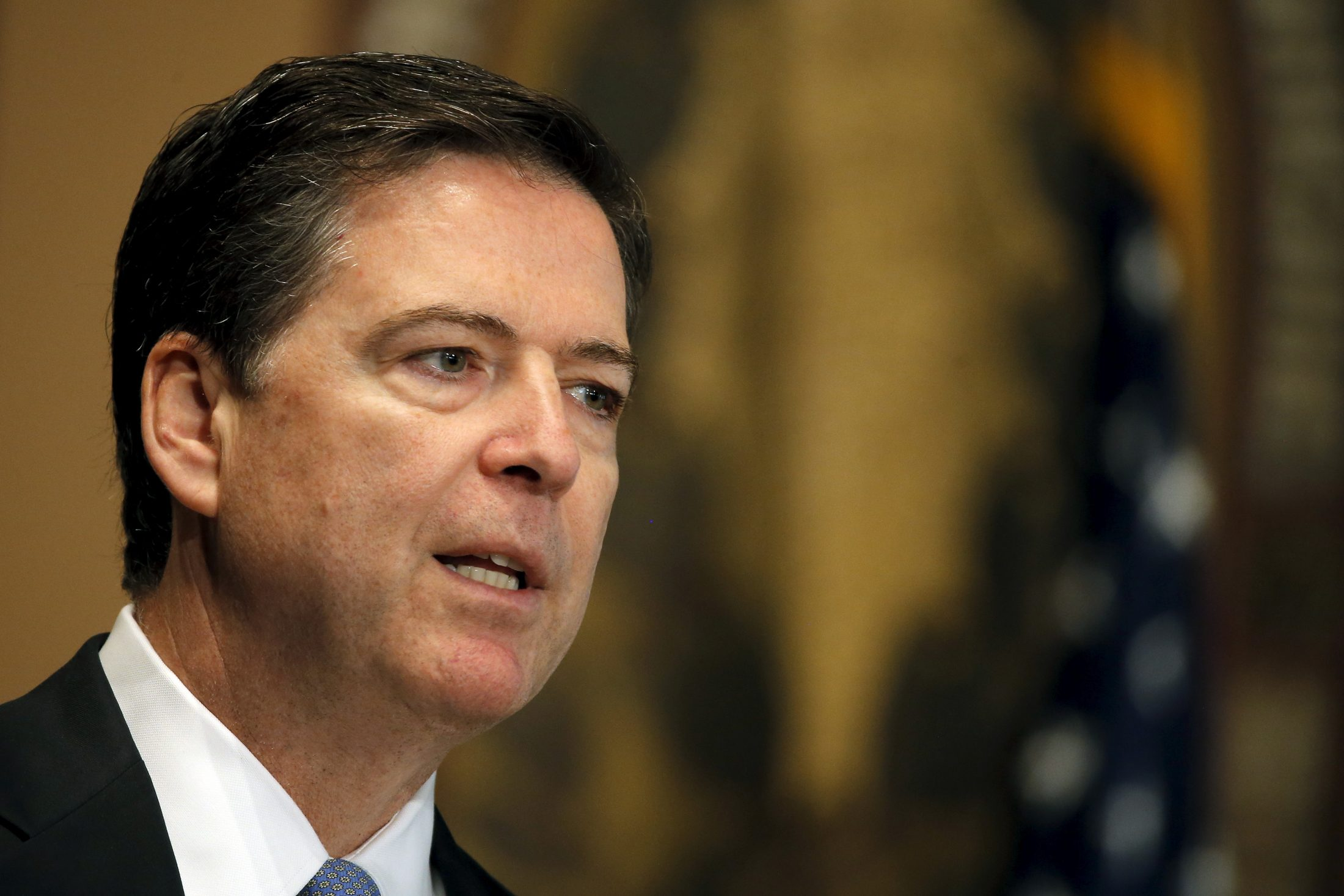 File photo of FBI Director James Comey by Carlos Barria/Reuters