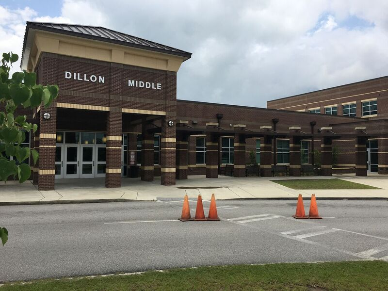 To help build the new Dillon Middle School, local taxpayers approved a penny sales tax, and the Obama administration provided a $3 million grant and backing that allowed the district to borrow additional funding. Photo credit: Alan Richard