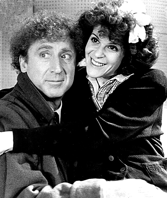 """Gene Wilder married Gilda Radner, his third wife, in 1984. They met on the set for film """"Haunted Honeymoon"""" (pictured). Photo in public domain"""