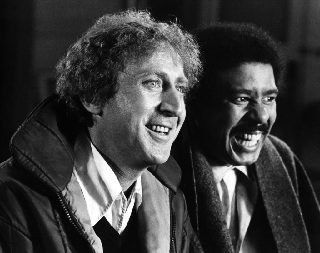 """Gene Wilder stars with comedian Richard Pryor in the action comedy """"Silver Streak"""". Photo by Hulton Archive/Getty Images"""