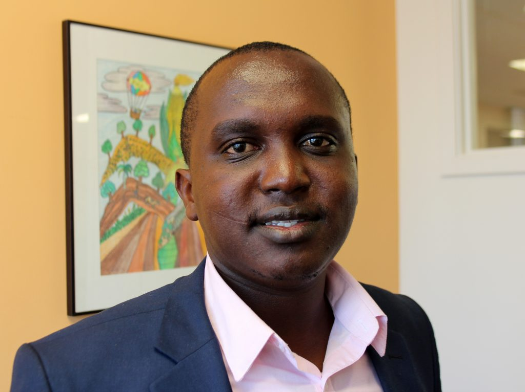 Peter Mumo started Expressions Global Group to help farmers in Kenya optimize their land and crops. Photo by Larisa Epatko/PBS NewsHour