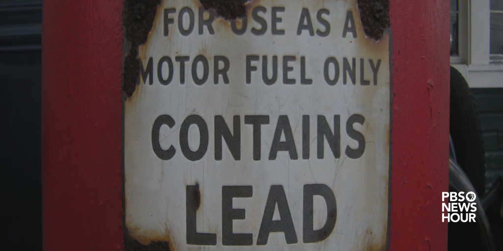 Lead used to be found in almost everything, from paint to gasoline.