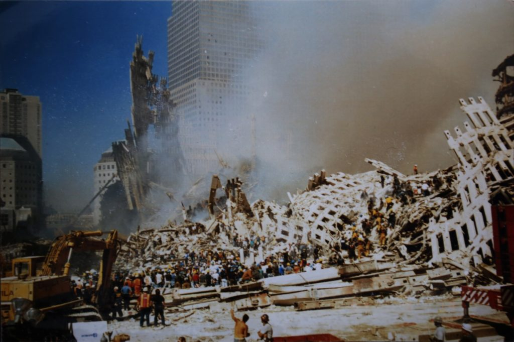 9/11 through the eyes of a first responder and his disposable camera