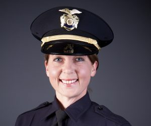 Officer Betty Shelby of the City of Tulsa Police Department in Tulsa, Oklahoma, is shown in this undated photo provided on Sept. 21, 2016. Photo courtesy of City of Tulsa Police Dept/Handout via Reuters