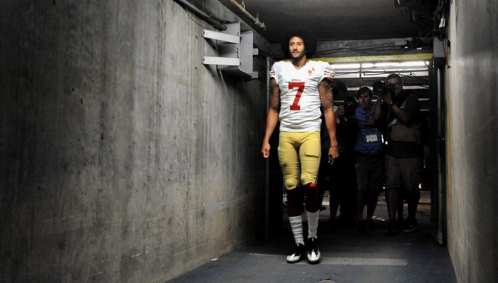 newest bd75e 3ff3e Colin Kaepernick jersey leads NFL sales after national ...