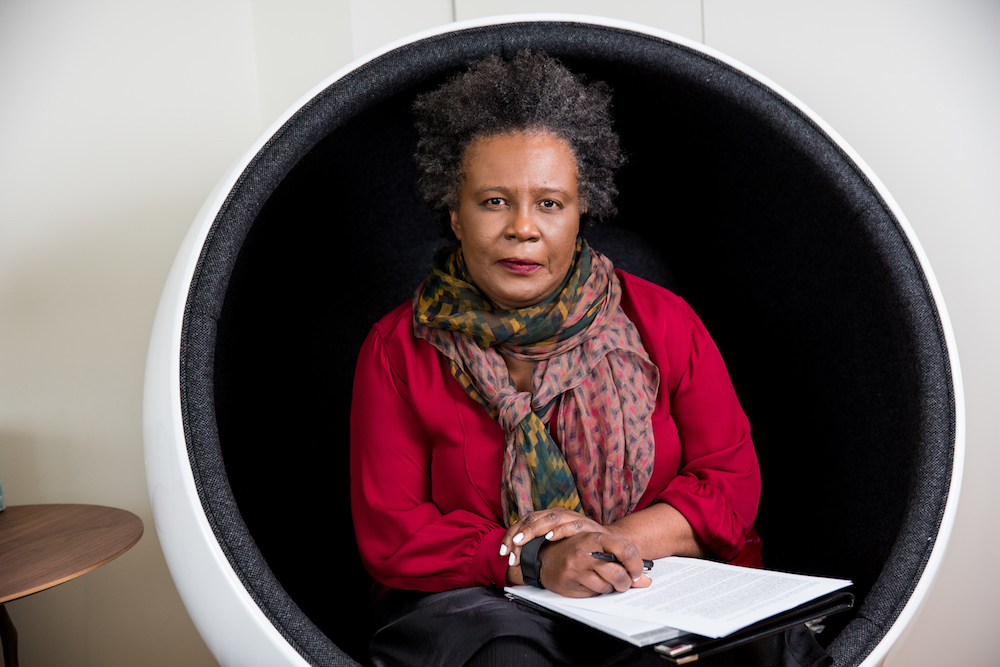 Claudia Rankine, 2016 MacArthur Fellow, New York, New York, September 7, 2016