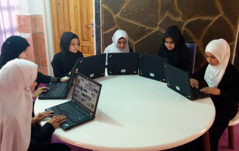 The coding classes are free and held after the regular school day. Photo courtesy of Code to Inspire