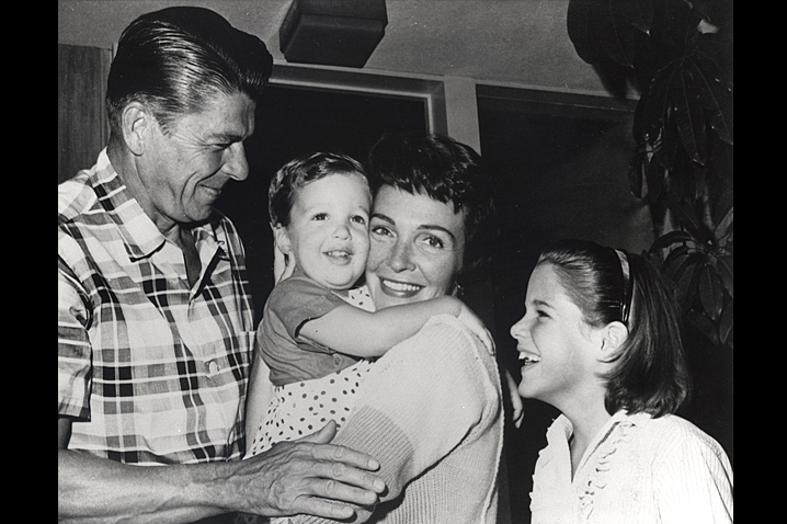May 20, 1958 - The Reagan family grows when their son, Ronald Prescott Reagan, is born.