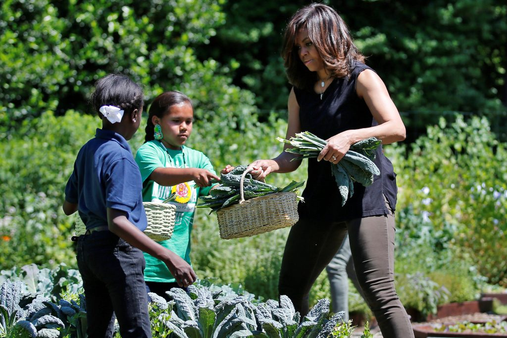 Michelle Obama Weeds Out Risk For White House Garden Pbs Newshour
