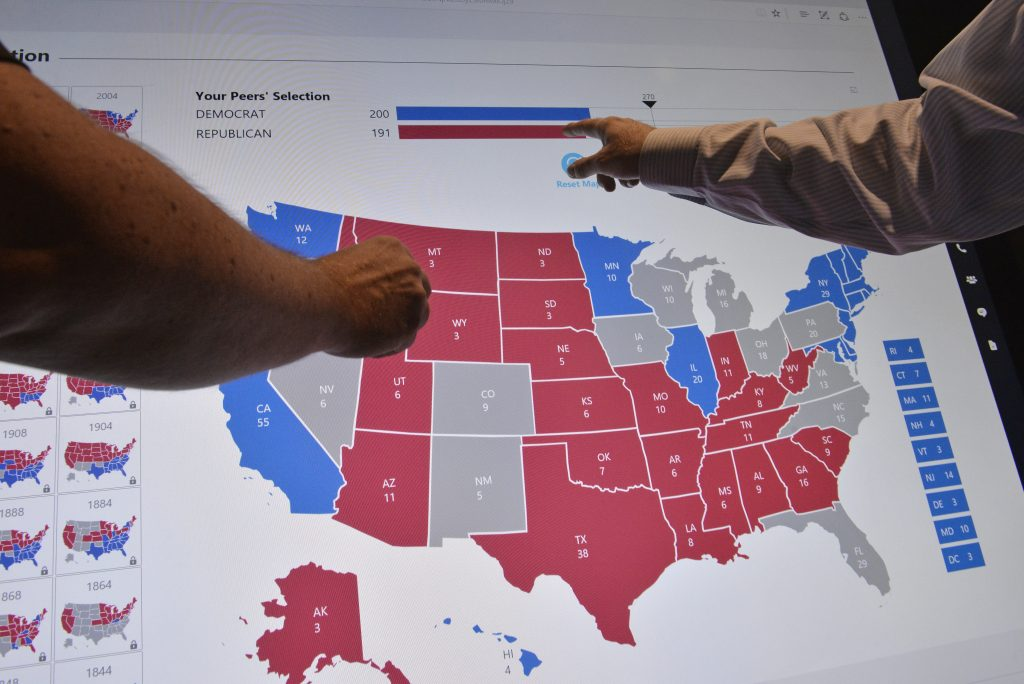How Many Delegates Per State Map.Electoral Map Tag Pbs Newshour