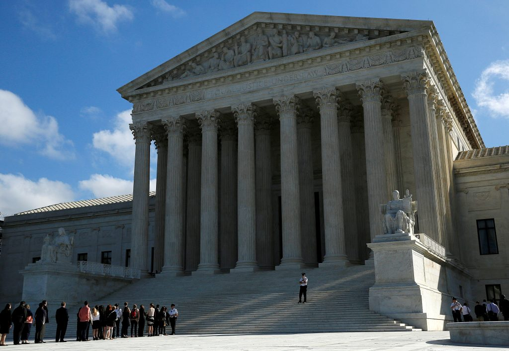 The Supreme Court agreed to hear Texas' appeal to preserve congressional districts struck down by a three-judge panel as racially discriminatory . File photo by REUTERS/Gary Cameron.