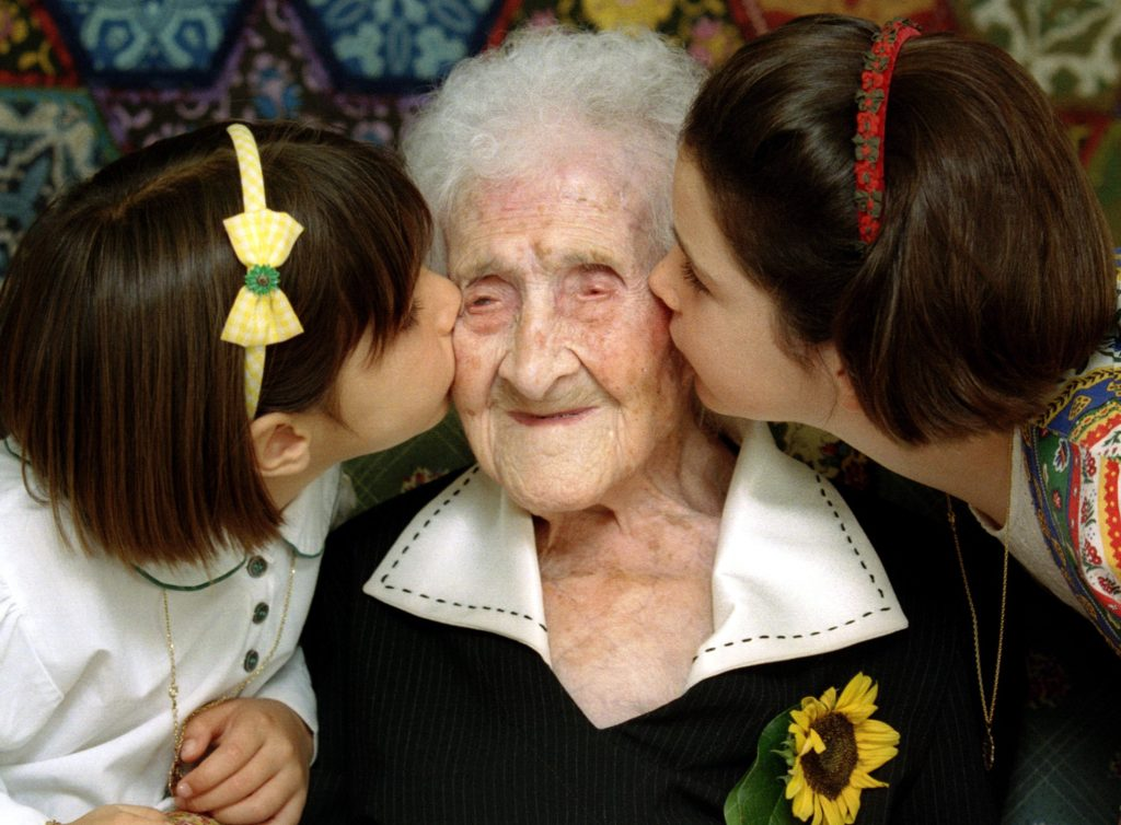 Jeanne Calment, who died in 1997 at 122, lived longer than any person in recorded history. Jean-Paul Pelisser/REUTERS/