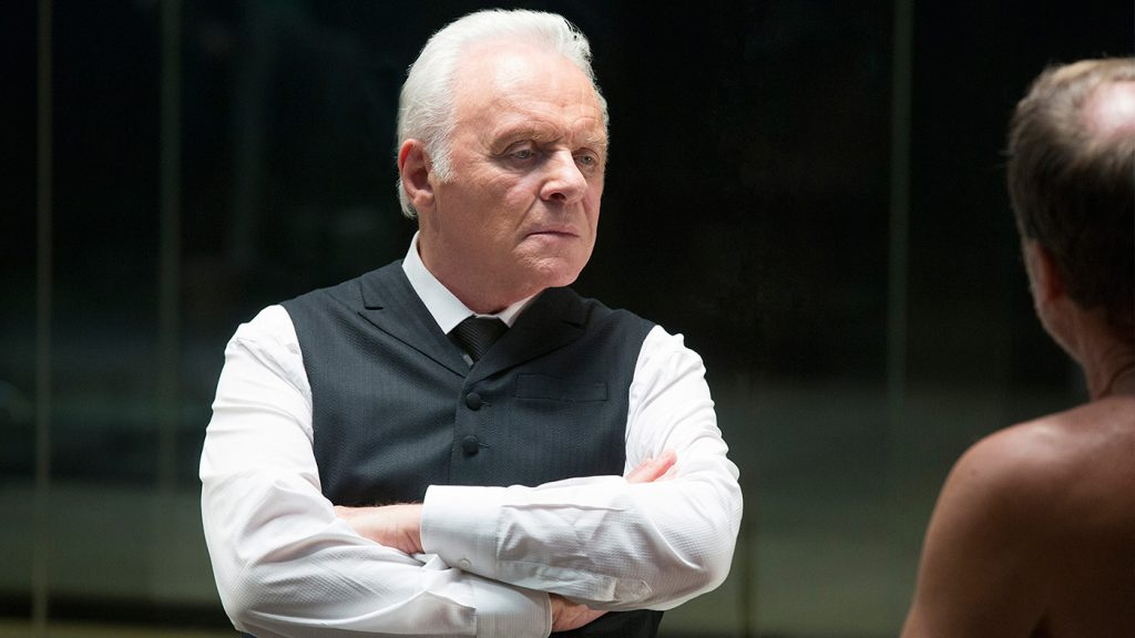 Anthony Hopkins plays Dr. Ford, the mysterious mastermind behind 'Westworld.' Photo by HBO