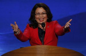Former two-time congresswoman Tammy Duckworth (D-IL) was elected the first Thai-American Senator. Photo by Jason Reed/Reuters.