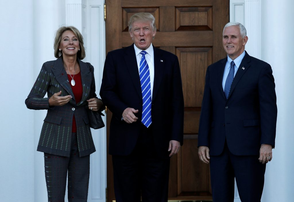 Betsy Devos Trumps Education Pick Plays >> With Devos School Choice Is Likely Trump Education Priority