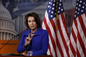 File photo of House Minority Leader Nancy Pelosi, D-Calif. at the U.S. Capitol by Jonathan Ernst/Reuters