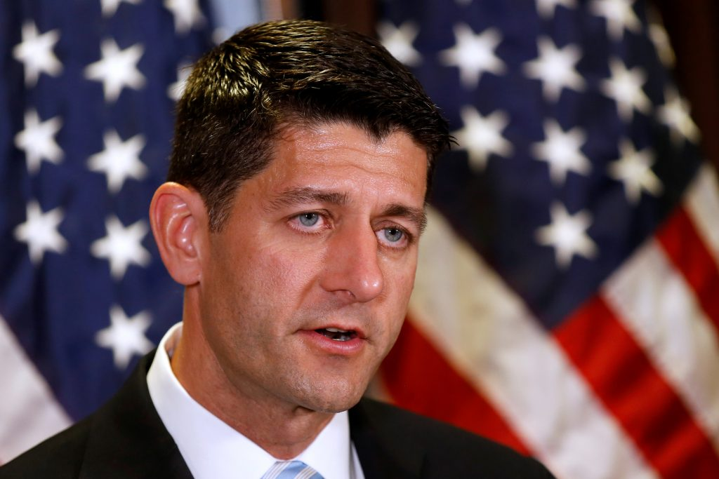 File photo of House Speaker Paul Ryan by Carlos Barria/Reuters