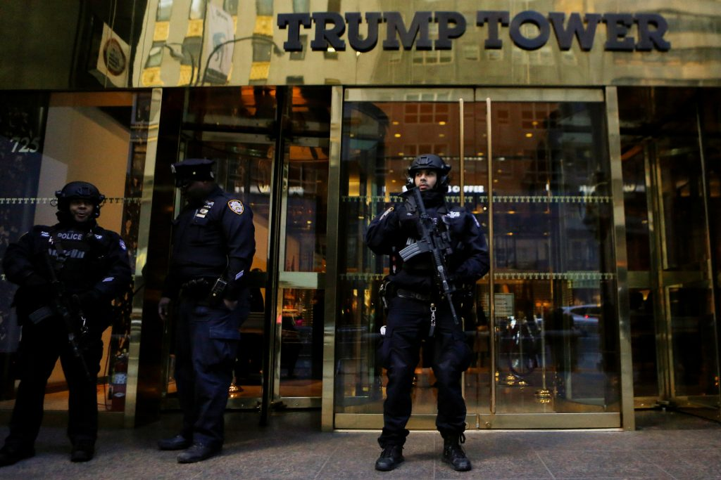 Trump holes up in tower as transition takes shape | PBS ...