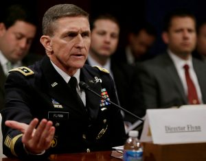 File photo of Lt. Gen. Michael Flynn by Gary Cameron/Reuters