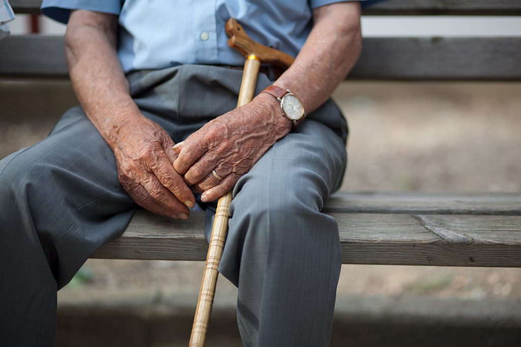 Tens of millions of adults are chronically lonely, which has deleterious impacts on aging. Photo by brunella fratini/via Adobe. related words: seniors, retirement, health care, medicare