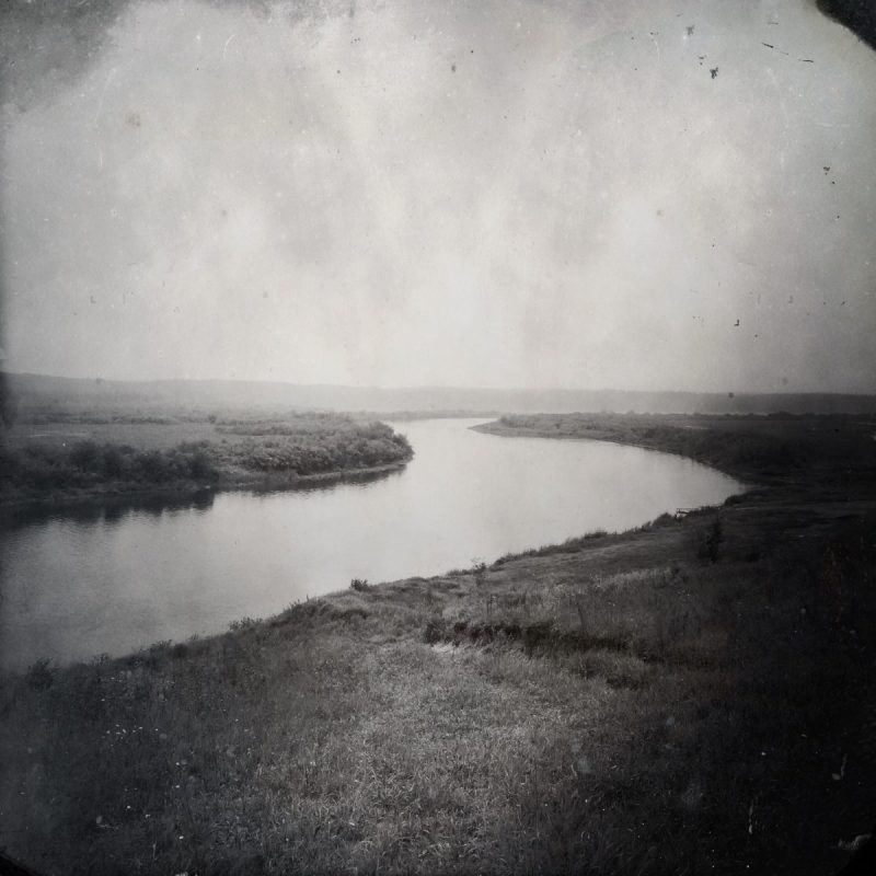 The only road from Beauval Indian Residential School (at least 50+ years ago, at the darkest point in the school's history), led straight to the Beaver River. Students regularly tried to run away, but either were too small to try to cross or drowned in the attempt. Photo by Daniella Zalcman