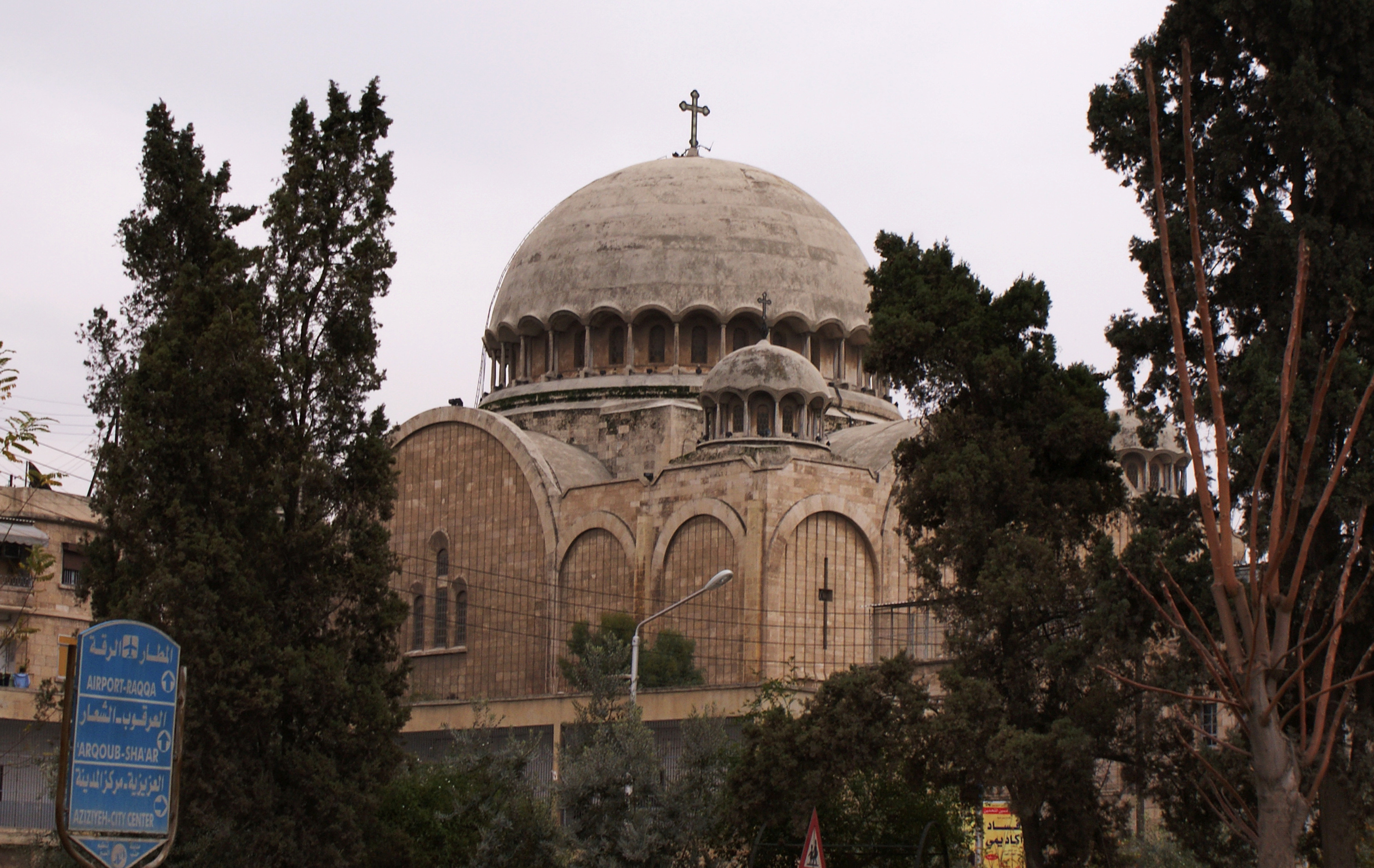 A church is pictured in Aleppo on Dec. 12, 2009. Photo by Khalil Ashawi/Reuters