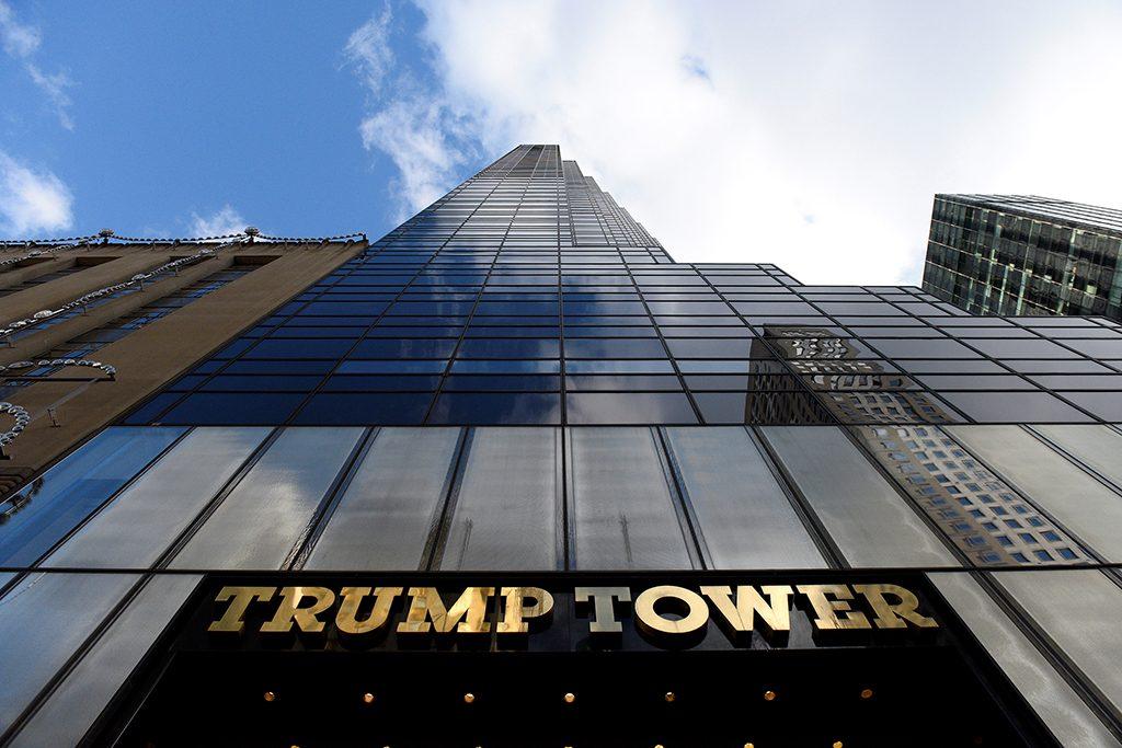 Republican president-elect Donald Trump's Trump Tower is seen in the Manhattan borough of New York, U.S., November 27, 2016. Photo by Darren Ornitz/REUTERS