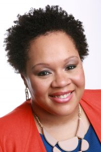 New York Times journalist Yamiche Alcindor. Photo by Earl Wilson/The New York Times
