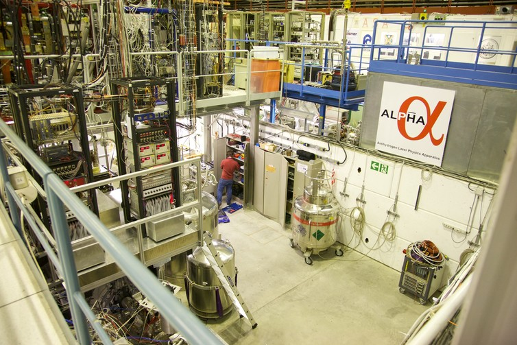 The ALPHA2 apparatus at CERN is helping to understand antimatter. Photo by CERN