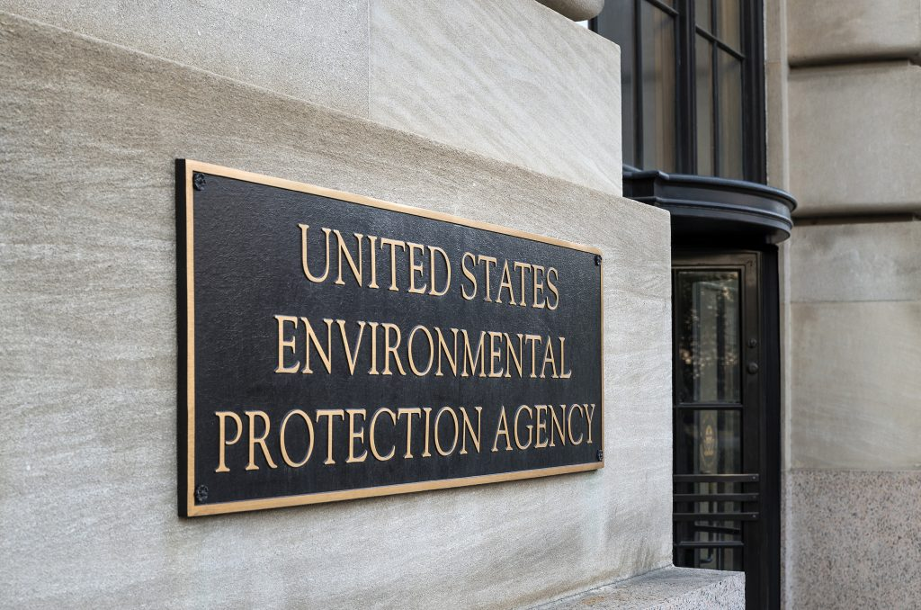 The United States Environmental Protection Agency in Washington DC. Photo by Loop Images/UIG via Getty Images
