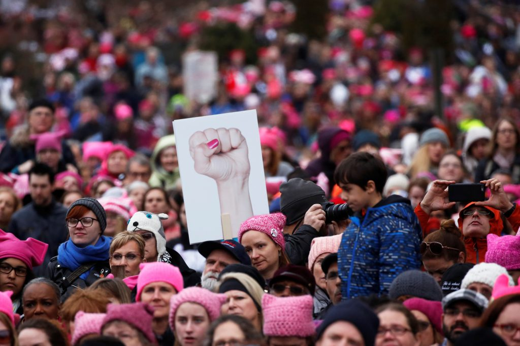 Can the Women's March organizers maintain momentum?