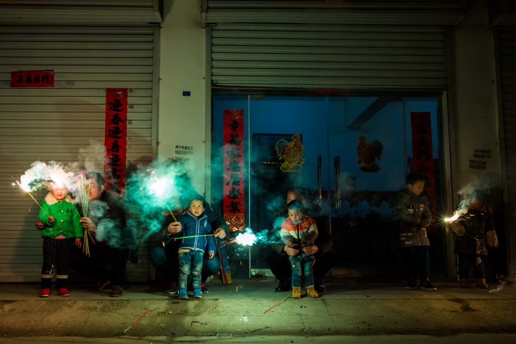 photos millions celebrate chinese new year year of the fire rooster pbs newshour