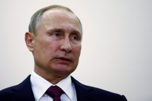 File photo of Russian President Vladimir Putin by Axel Schmidt/Reuters