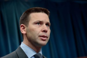 U.S. Customs and Border Protection (CBP) Acting Commissioner Kevin McAleenan speaks during a press conference Jan. 31 in Washington, D.C. Photo by Drew Angerer/Getty Images